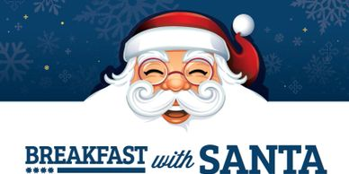 What fun it will be for the children to have breakfast with Santa!!  Bring the family to enjoy this