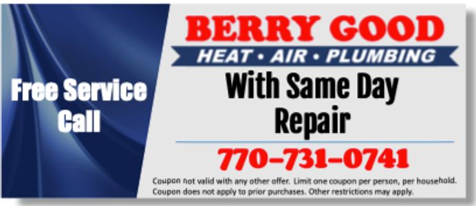 air conditioning service coupon Free service call