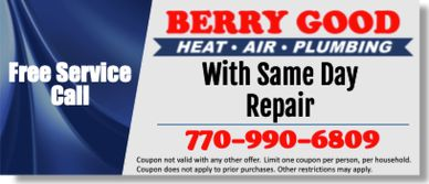 coupon for same day hvac repair in atlanta