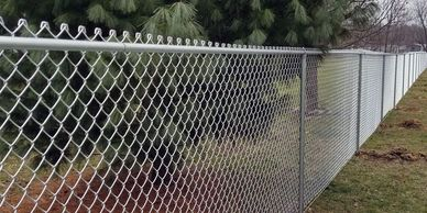 chainlink fencing for security