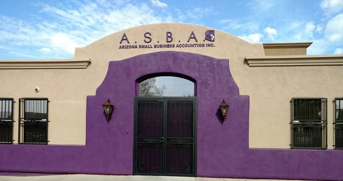 Picture of the front of our building at 5205 East Pima Street, Tucson, AZ 85712