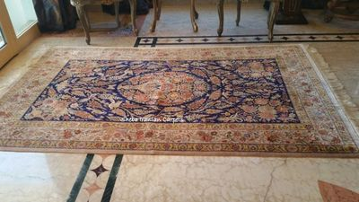 Qom Persian carpet from Sheba Iranian Carpets stores
