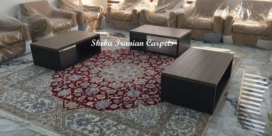 Sheba Iranian Carpets luxury Nain Persian carpet