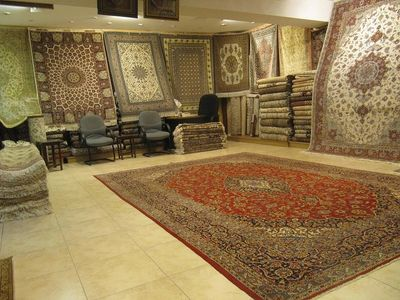 Sheba Iranian Carpets showroom