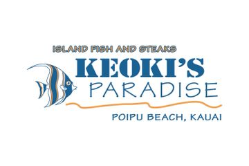 Keoki's Paradise Island Fish and Steaks Poipu Beach, Kauai Aloha Later