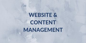 website and content management