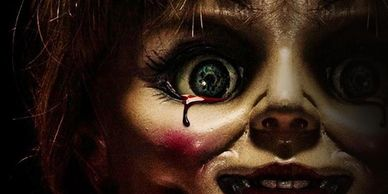 Annabelle, horror, haunted escape room, haunted,Scary, Beirut fun, halloween, freaky, escape room