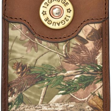 Custom realtree camo badger brand money clips BMC312