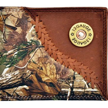 Custom Realtree camo bi-fold wallets