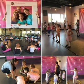 Dance friends!  Pre-Ballet/Tap classes and street jazz dance classes at All That Jazz.