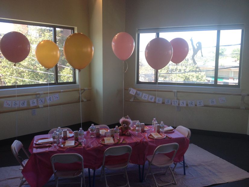Birthday parties at All That Jazz Dance Studio in Newton