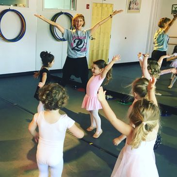 Miss Ellen Frank at All That Jazz Dance Studio in Newton