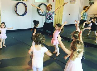 Pre-Ballet/Tap classes for pre-school boys and girls at All That Jazz