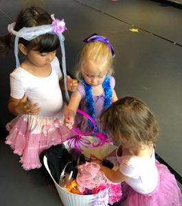 Birthday parties at All That Jazz in Newton for ages 3-10