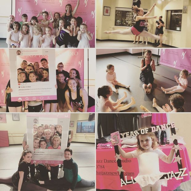 Dance for children ages 2 and up at All That Jazz Dance Studio in Newton