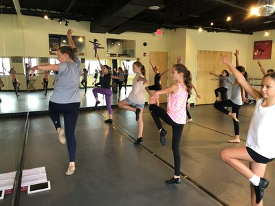 Contemporary class with Miss Heather Myers