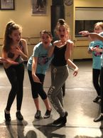 Musical Theater class at local dance studio in Newton