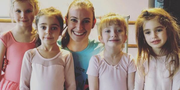 Ballet/Tap class with Miss Erin At All That Jazz Dance Studio in Newton