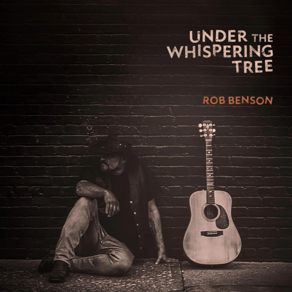"This is Rob's new album, ""Under The Whispering Tree"". Despite the pandemic, 2020 has been a producti"