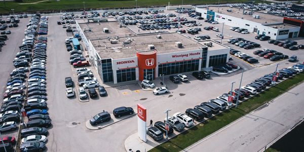 Car Dealership Drone Aerial Photography Winnipeg, Wornstar Media www.wornstarmedia.com