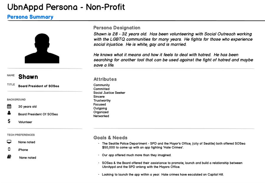 Persona, Use Cases, User Interview
