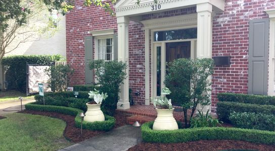 Landscape design Metairie, New Orleans