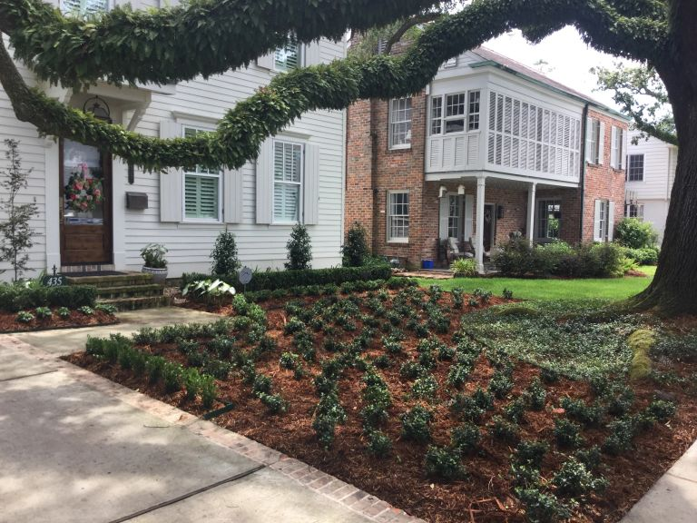 Landscape design and install metairie, kenner, new orleans
