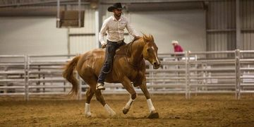 Dan James - Double Dan Horsemanship. Dan is a clinician & entertainer and is known at RTTH.