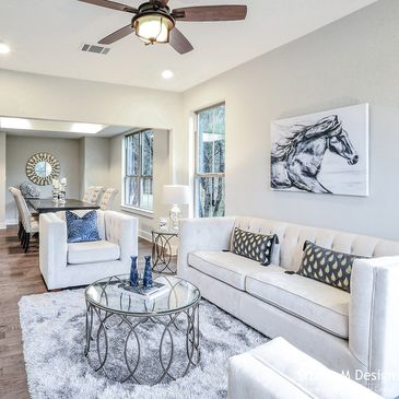Staging Luxury Home Builder Austin TX