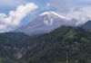 Volcano Orizaba, where I met with the Nahuals under a full moon and bright snowcap