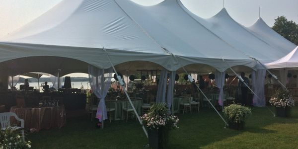 Bringing the kitchen to outdoor tent weddings and events with no facilities