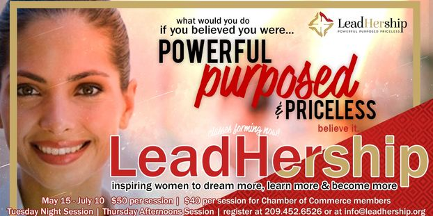 Become a LeadHer! Powerful, Purposed & Priceless - LeadHership.org