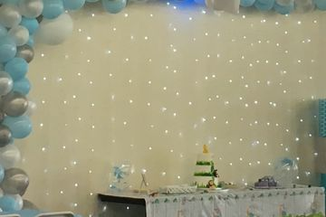 LED FAIRY STRING LIGHTING SETS THE MOOD FOR YOUR GUESTS AND MAKES YOUR TREAT TABLE LOOK AMAZING