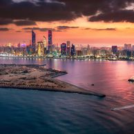 abu dhbai photography sunrise by ahmad alnaji professional cityscape and architecture photograher