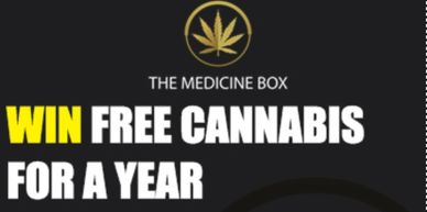 The Medicine Box dispensary has great Cannabis contest giveaways.