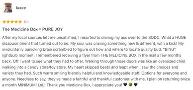 The Medicine Box has amazing client reviews