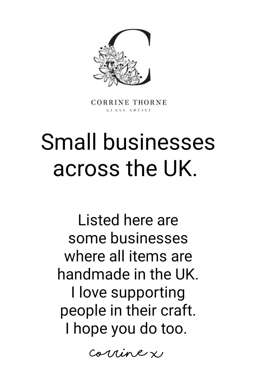 Small businesses in the uk handmade craft England Britain maker desinger