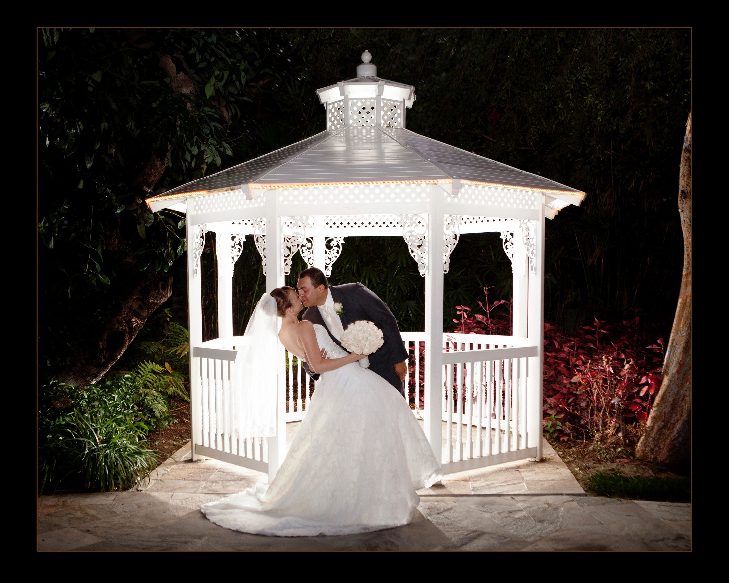 Wedding Photography, Gazebo,