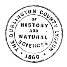 Burlington County Lyceum of History and Natural Sciences Associat