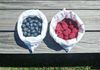 Blueberry & Raspberries in our bags