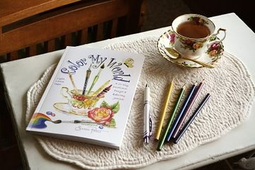 Color My World is a treasury of hope and encouragement for the broken hearted and discouraged. This