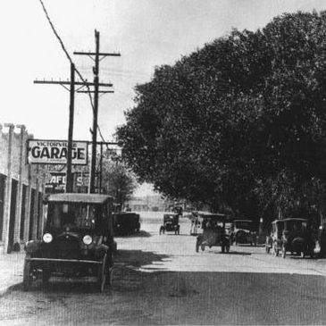 Seventh Street, Victorville. MHS/VVC/LHC archives.