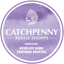 Logo for Catchpenny Resale Shoppe