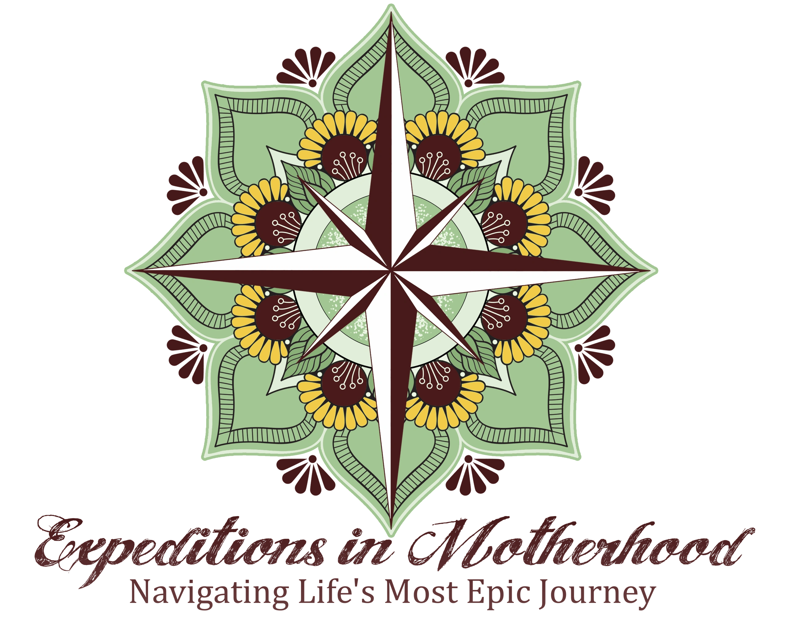 Expeditions in Motherhood, Inc Logo and welcome message