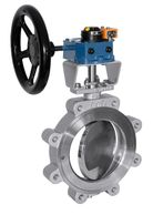 Somas Butterfly Isolation Valves Triple Offset