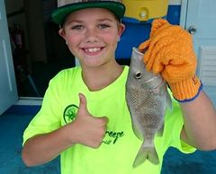 When a Child catches their 1st Fish it is a good memory they will never forget.  We replace sadness