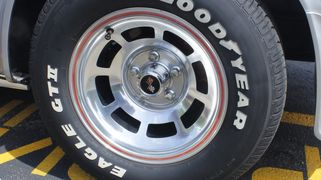 This 1978 Corvette Stingray received an Ultimate Wheel and Shine