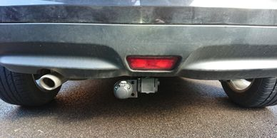Nissan juke towtrust detachable towbar fitted in northampton