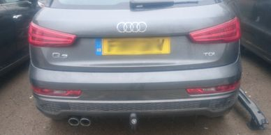Audi Q3 Tow-Trust Swan Neck towbar fitted in Leicester