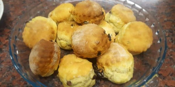 Homemade scones from the Uppertunity kitchen.